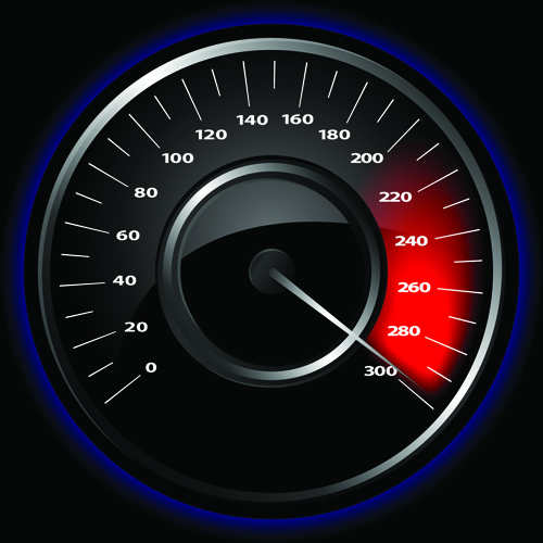 Website-speedometer