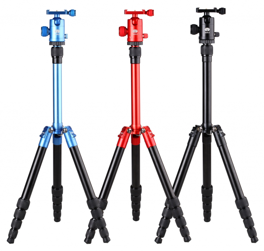 Sirui T-005X Aluminum Tripod with C-10X Ball Head